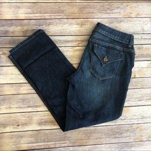 Simply Vera Vera Wang Straight Jeans